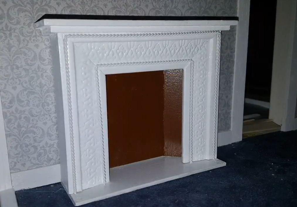 decorative fake fireplace