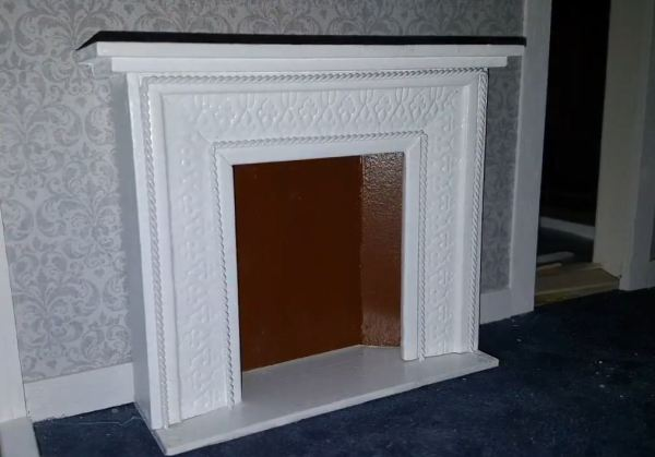 decorative fake fireplace
