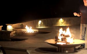 fire bowl round rock