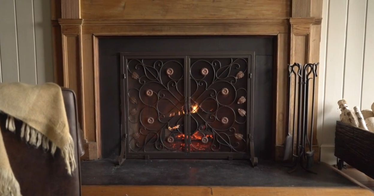 fireplace doors and screens