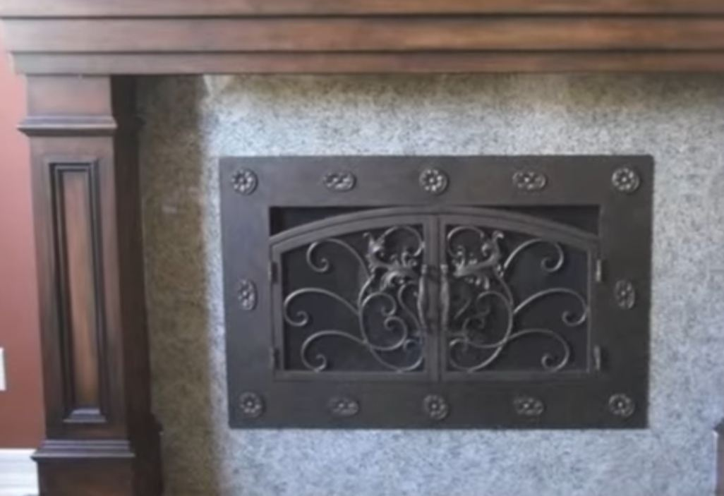 fireplace doors near me