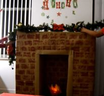 fireplace fake fire