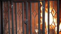 fireplace screens and doors  Fire pit pics