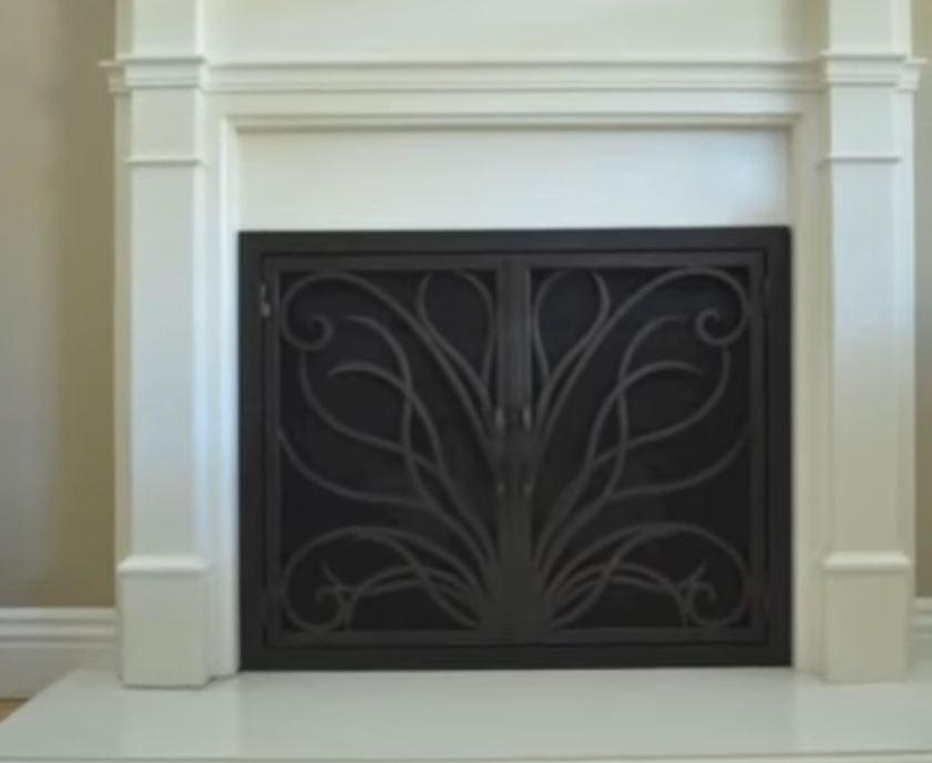 fireplace screens ideas