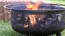 square fire pit ideas
