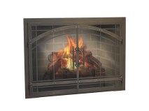 fireplace glass doors houston_15