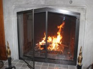 fireplace glass doors showroom_25