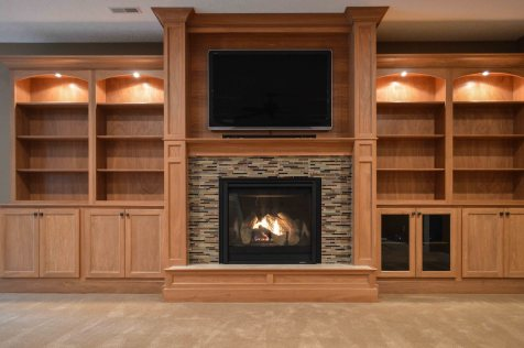 natural gas fireplace entertainment center_23