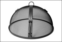 Hinged Round Model Screen 46- 60 | FirePitScreens.net