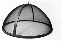 Lift Off Round Dome Model Screen 31-45 | FirePitScreens.net