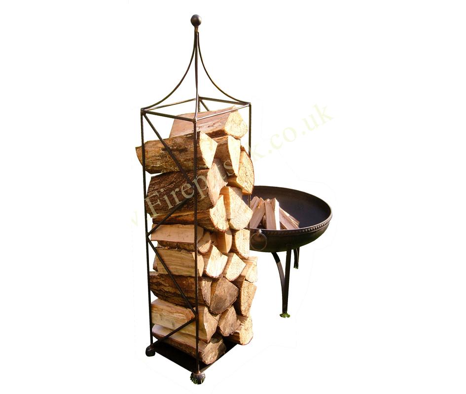 Firepit Log Holder