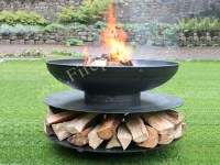 Fire Pit Classic Ring of Logs 90   Firepits UK