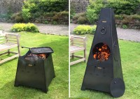 Chiminea or Fire pit 2 in 1