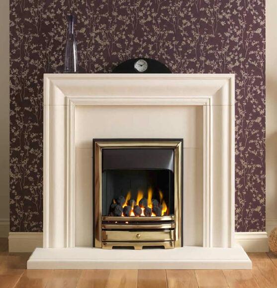 San Marino  Fireplace by Design