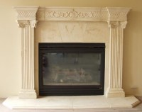 Cast Stone Fireplace Mantels | Pre Cast Surrounds ...