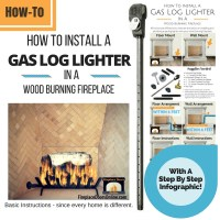 Fireplace Gas Starter Pipe Installation Instructions