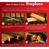 How to start a fire in a fireplace | Starting a fire in ...