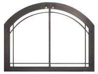 Legend Arched Masonry Fireplace Door