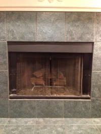 Fireplace Covers for wood burning fireplace - Insulated ...