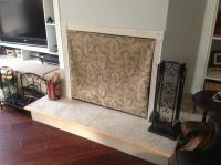Fireplace Covers for wood burning fireplace
