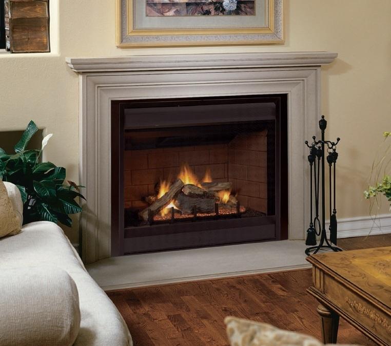 Fireplaceinsertcom FMI Products Direct Vent Gas Fireplace Tudor