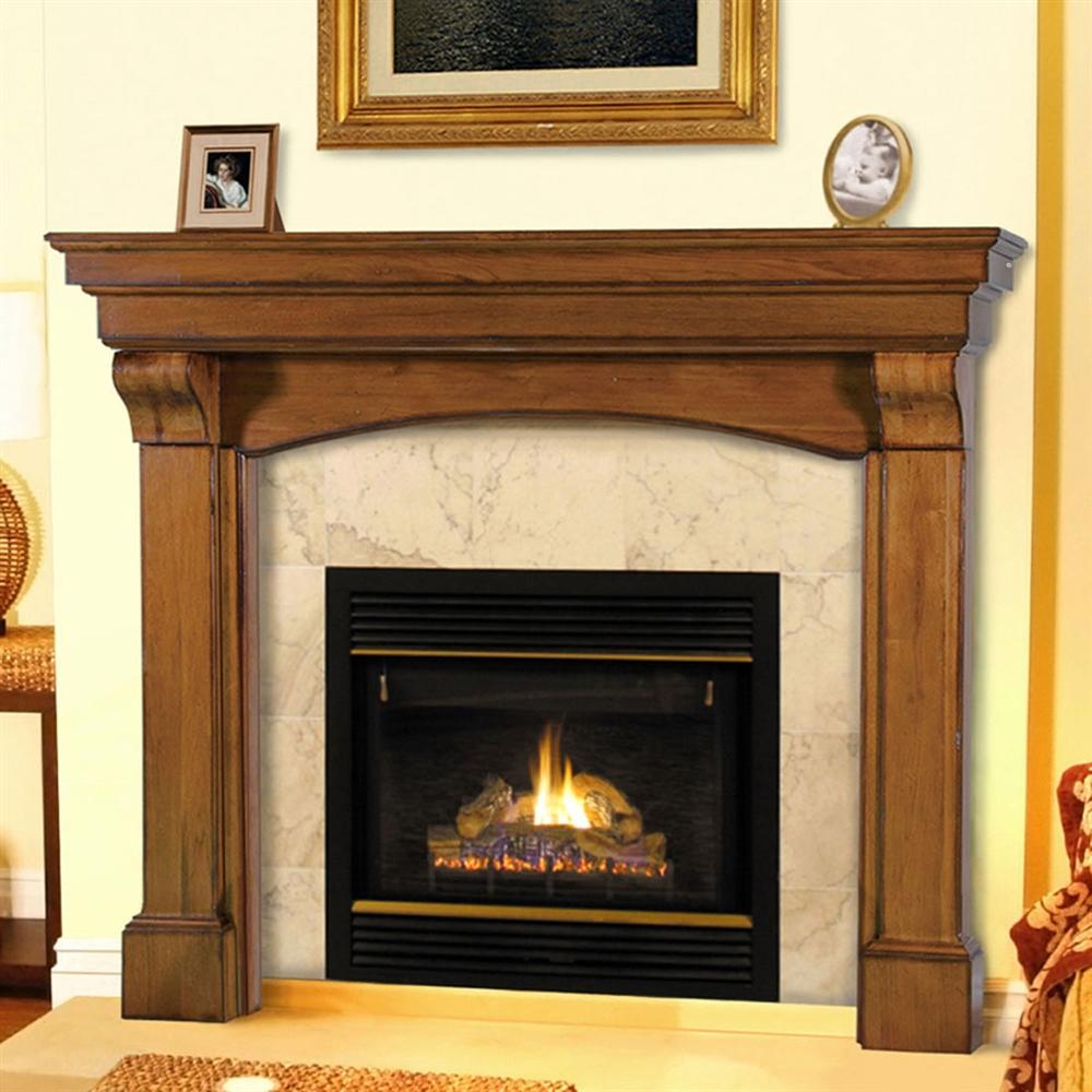 Fireplaceinsertcom Pearl Mantels Blue Ridge Fireplace Mantel Surround