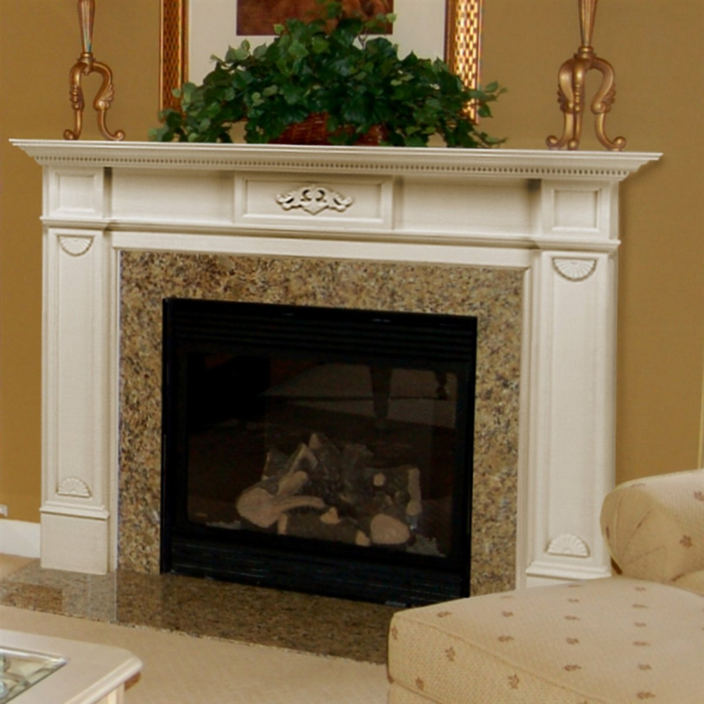 Fireplaceinsertcom Pearl Mantels Monticello Fireplace Mantel Surround