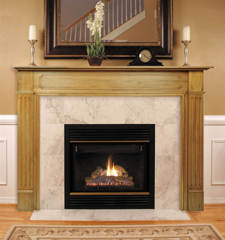 Fireplaceinsertcom Pearl Mantels Williamsburg Fireplace Mantel Surround