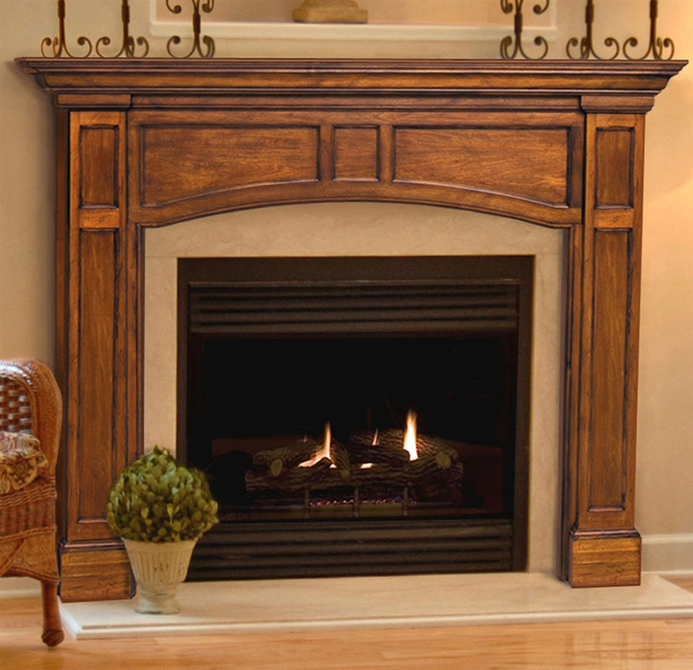 Pearl Mantels Vance Fireplace Mantel Surround