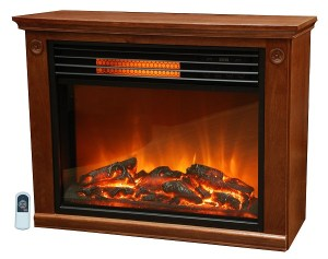 LifeSmart Large Room Infrared Quartz Fireplace insert Review