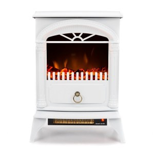 e-Flame USA Hamilton Free Standing Electric Fireplace Review