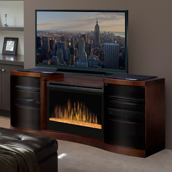 16 Best Electric Fireplace Tv Stand Jan 2019 Reviews