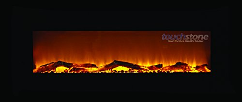 """Touchstone Onyx 50"""" Electric Wall Mounted Fireplace-Touchstone Onyx 50"""" Electric Wall Mounted Fireplace"""