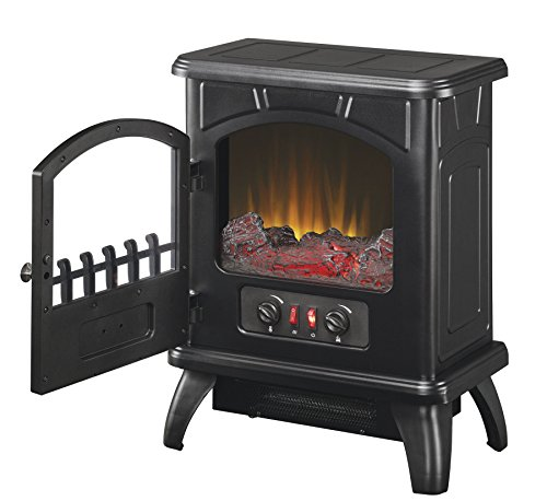 best electric fireplace heater reviews -Duraflame DFS-500-0 Thomas Electric Stove with Heater