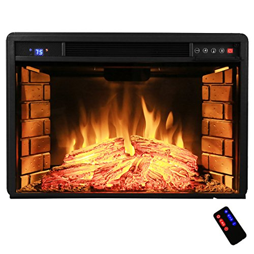 Best electric fireplace insert reviews -AKDY Azfl-EF05-28r Electric Firebox Fireplace Heater Insert 28