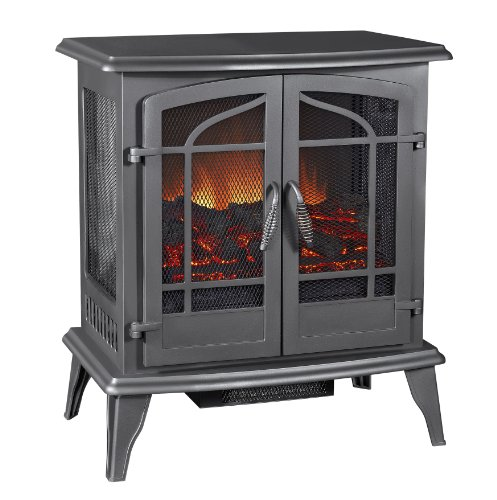 Best Electric fireplace stove reviews -Pleasant Hearth Legacy Panoramic Electric Stove - Vintage Iron