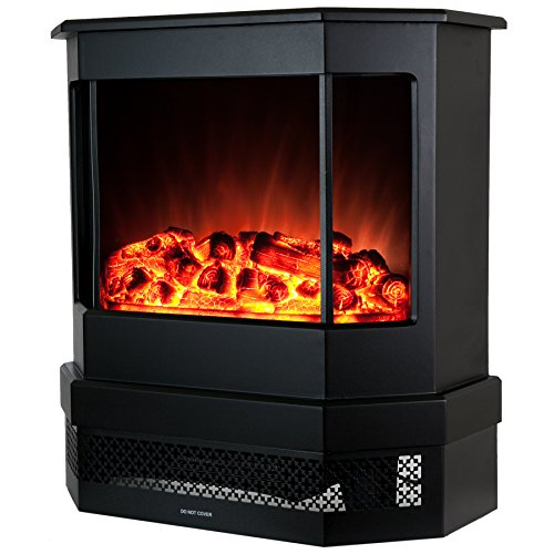 Best Electric fireplace stove reviews -Golden Vantage European Style Freestanding Portable Modern Electric Fireplace Heater Stove EF330 - 23""