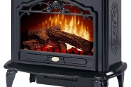 best electric fireplace stove reviews - Dimplex TDS8515TB Celeste Electric Stove