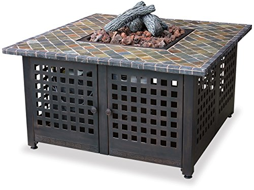 Best fire pit reviews - Endless Summer GAD860SP Outdoor Firebowl with Slate and Marble Mantel