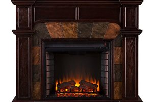 SEI Cartwright Convertible Electric Fireplace Review