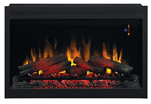 """Best electric fireplace insert - ClassicFlame 36EB220-GRT 36"""" Traditional Built-in Electric Fireplace Insert"""