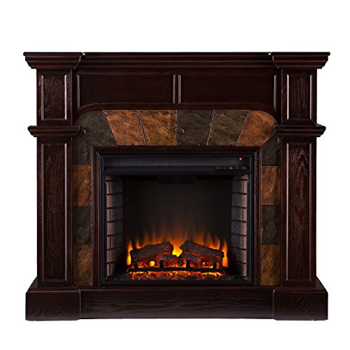 Compare WithSEI Cartwright Convertible Electric Fireplace VS.Altra Ameriwood Home Chicago Fireplace TV Console