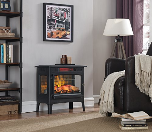 Duraflame DFI-5010-01 Infrared Quartz Fireplace Stove