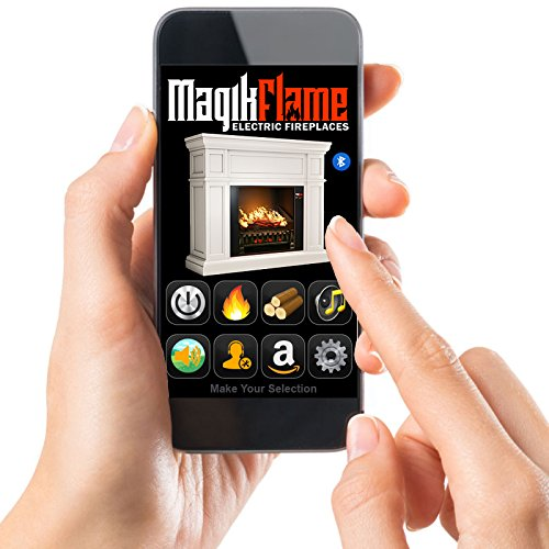 MagikFlame Chronus Media Center Electric Fireplace Review - Compare MagikFlame Chronus Features with the money you invest