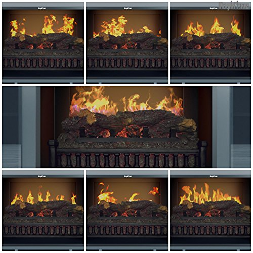 MagikFlame Chronus Media Center Electric Fireplace Review - Key features of the MagikFlame Chronus Media Center Electric Fireplace
