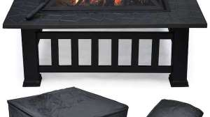Yaheetech Outdoor Metal Firepit Review