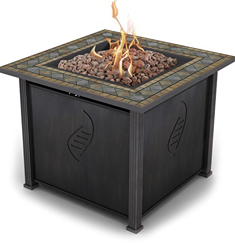 Compare with Barton Outdoor Propane Fire Pit vs. Bond Rockwell 68156 Gas Fire Table