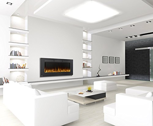 Compare Napoleon Allure Linear vs. GMHome Freestanding Wall Mount Electric Fireplace