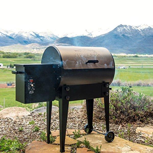 Traeger smoker reviews 2018 - Traeger TFB29LZA Grills Junior Elite Wood Pellet Grill and Smoker