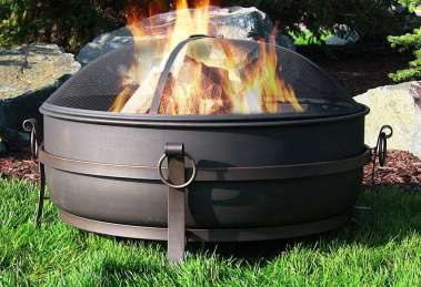 What users saying about Sunnydaze Large Outdoor Fire Pit